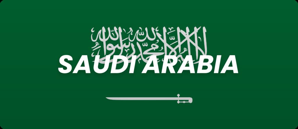 bet365 Saudi Arabia Flag Banner
